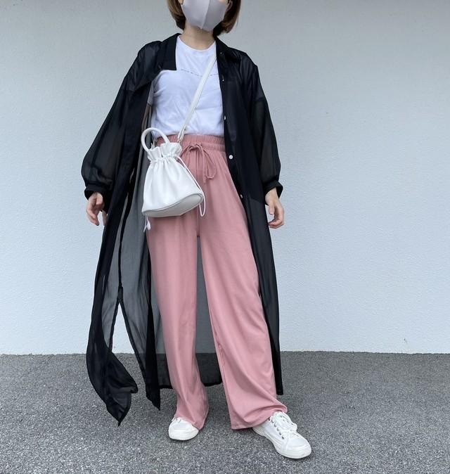 〈InstaLIVE紹介商品〉夏のトレンドシアーワンピース