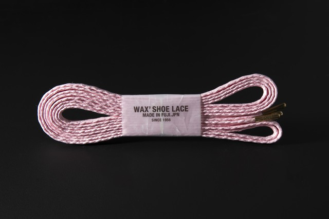 WAFFLE SHOE LACE / BABY PINK