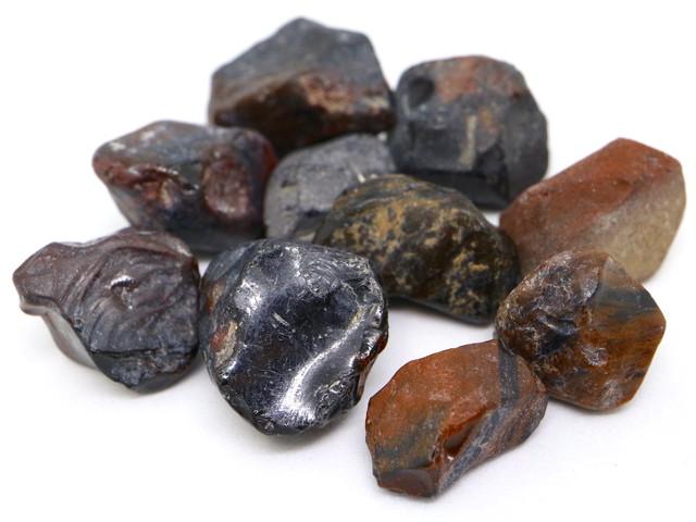 ユタ州産 マホガニーオブシディアン セット 35,2g分 MHO001 原石 鉱物 天然石 パワーストーン