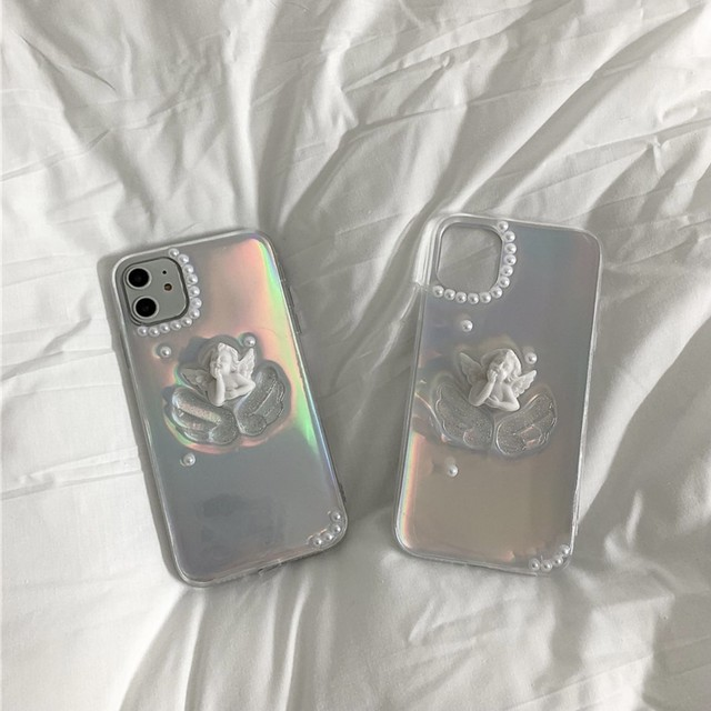 clear angel iPhone case