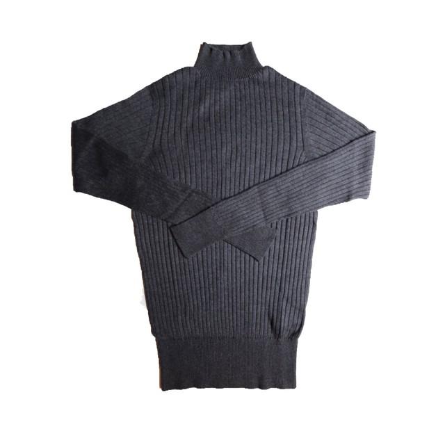 susuri/ススリ ポエータハイネックセーター charcoal ♯19-850