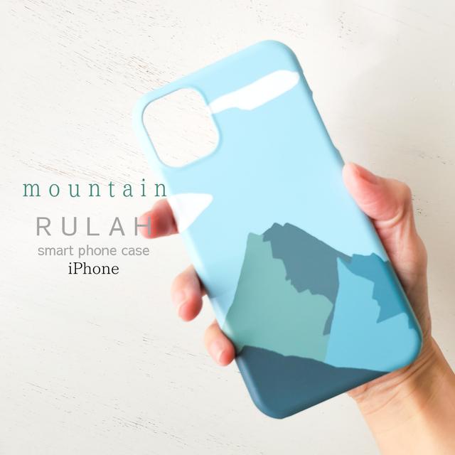 iPhone12対応 RULAH マウンテン プラスチックスマホケース