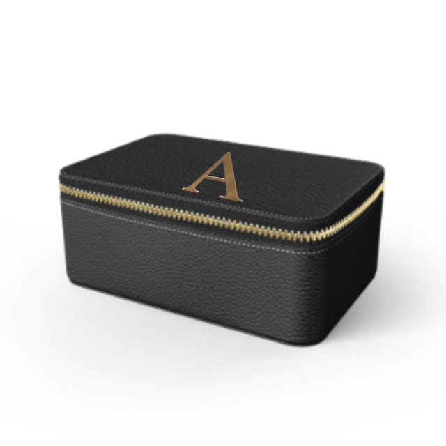 Box Premium Shrink Leather Case (Ink Black)