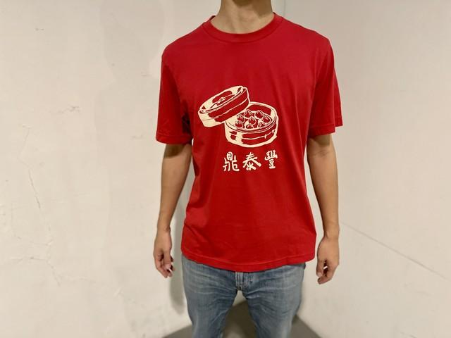 台湾Tシャツ 鼎泰豐 赤