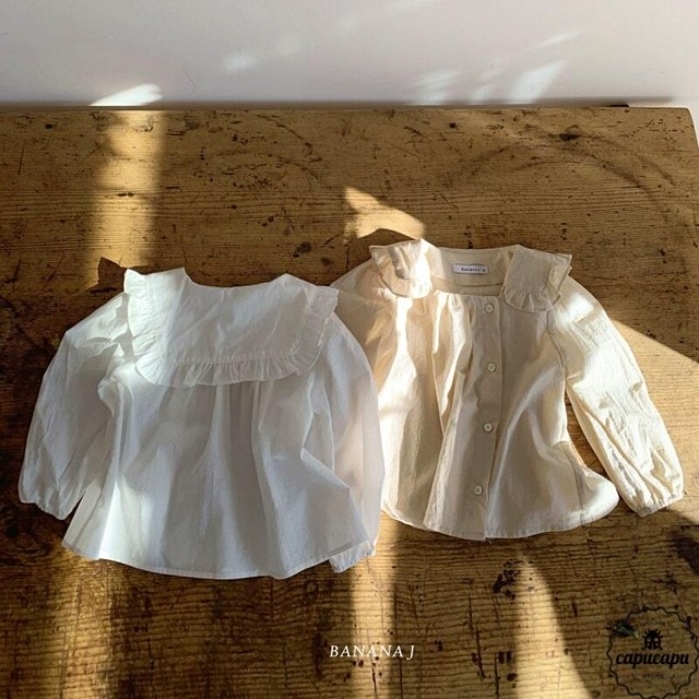«sold out» banana j sand blouse 2colors  サンドブラウス