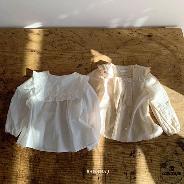 «予約» banana j sand blouse 2colors  サンドブラウス