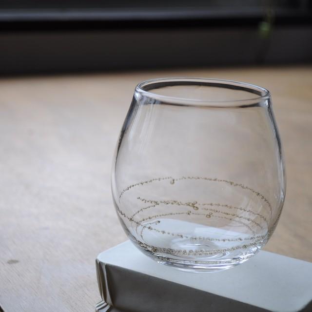 曽田伸子さん | 真鍮泡グラス【ロングtype】