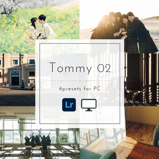 Tommy presets 02【PC専用・スマホ不可】