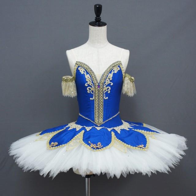 【受注販売】バレエ衣装 CC061_パキータ ブルー