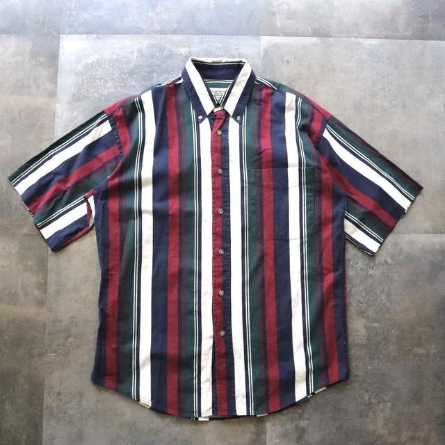 retro mulch stripe shirt