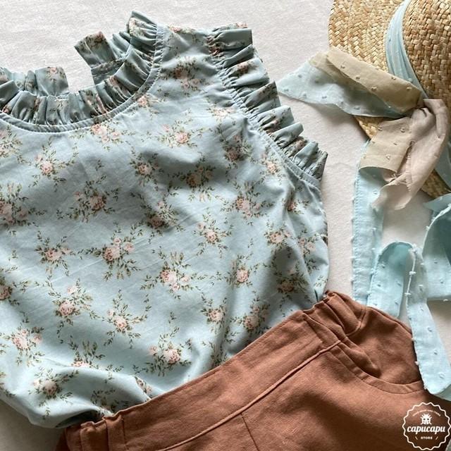 «予約»«pour enfant» ロズリー ブラウス rosley blouse