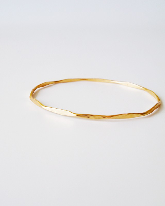 14k gold filled bangle