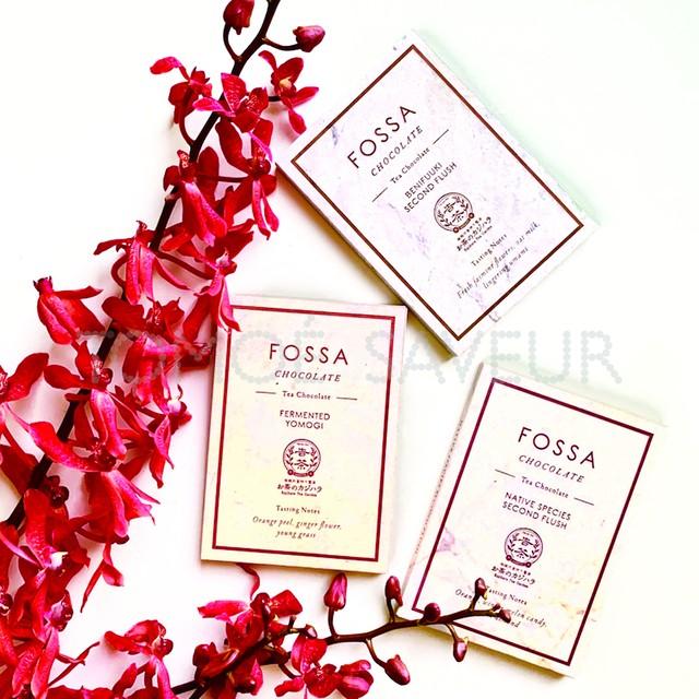 フォッサチョコレート お茶のカジハラ コラボレーションバー3枚セット