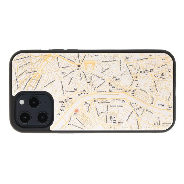 FLASH Paris回路地図 iPhone 12 Pro Maxケース  白【東京回路線図A5クリアファイルをプレゼント】