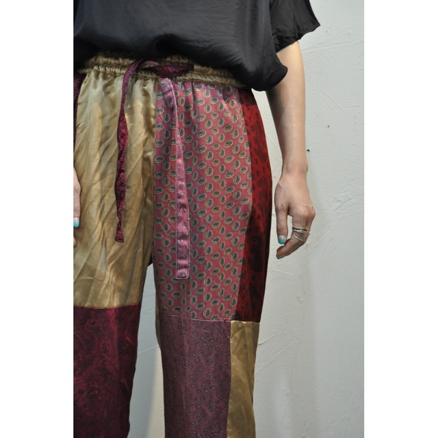 【ethical hippi】tapered pants(navy blue) / 【エシカル ヒッピ】テーパード パンツ(navy blue)