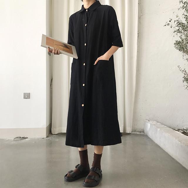 【即納♡】シャツワンピース 5649