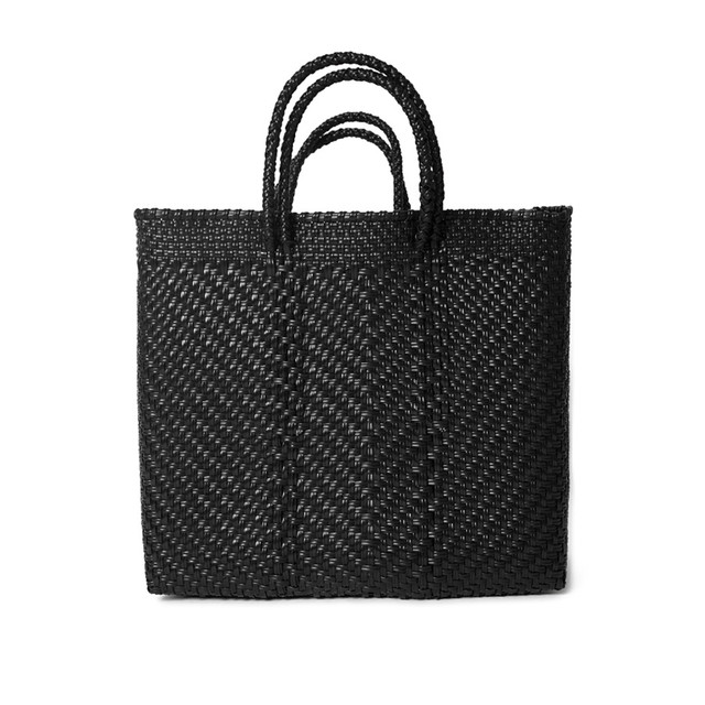 MERCADO BAG ESPIGA - Black(M)