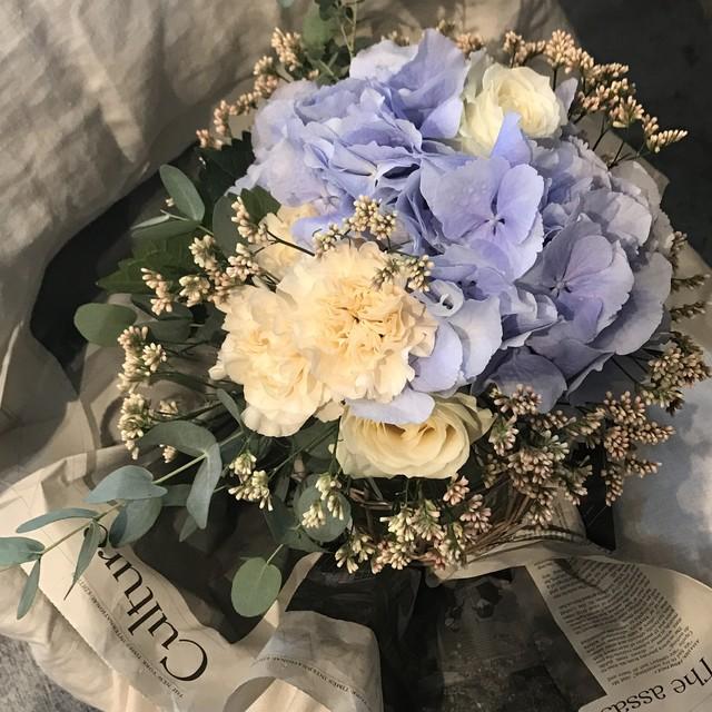 紫陽花 bouquet