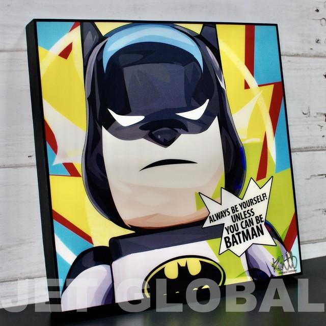 ベアブリック バットマン / BEARBRICK BATMAN / Mサイズ 26cm / PAPA_BB0021