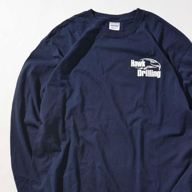 【XLサイズ】Hawk Drilling ホークドリル TEE 半袖Tシャツ NVY ネイビー XL 400601191023