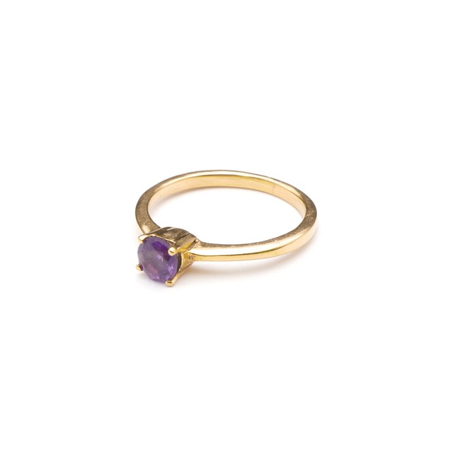 SINGLE PETIT STONE NON-ADJUSTABLE RING 085