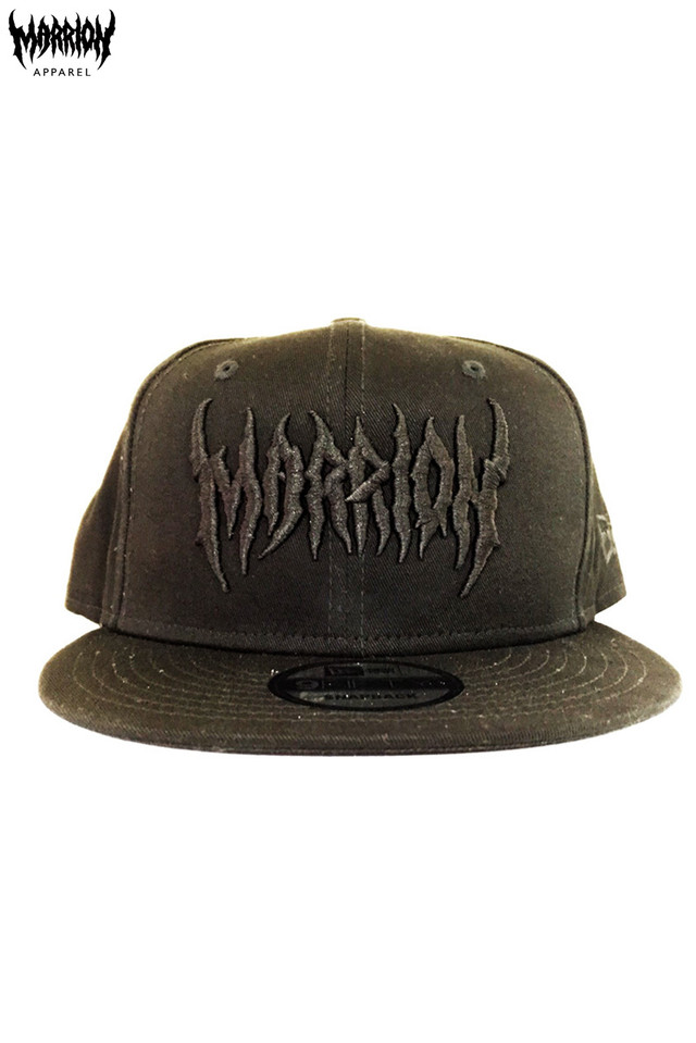 DEATH MARRION CAP Ver.2 (Black×Black NA)