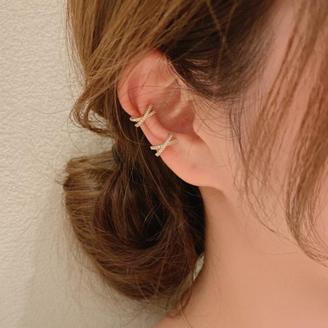 cross bijou ear cuff c014