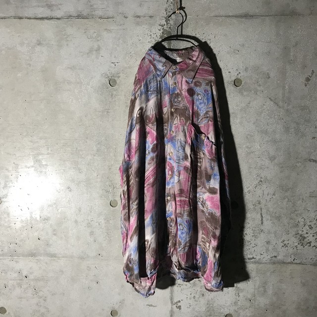 [used]artistic painting shirt