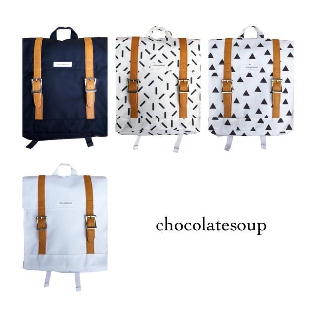 chocolatesoup(チョコレートスープ)/レッスンスクエアリュック//