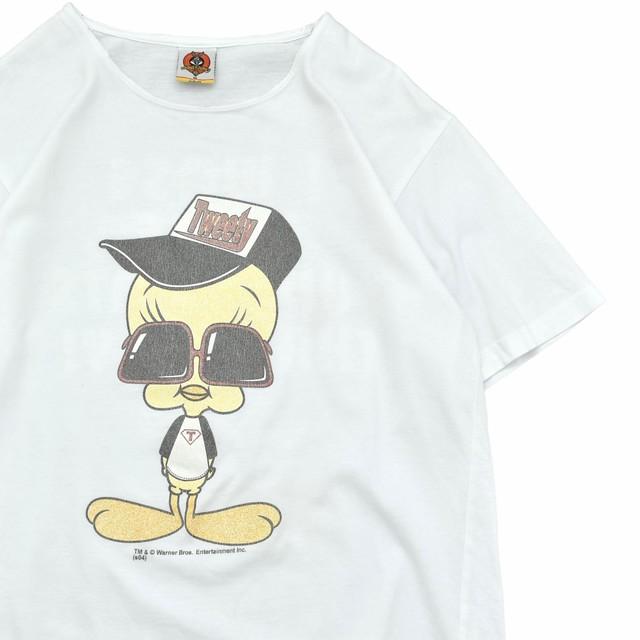 Looney Tunes TWEETY cutoff remake T shirt