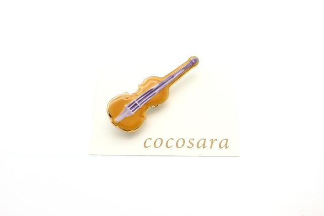 有田焼ブローチ バイオリン 4