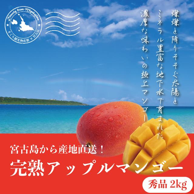 【宮古島産】完熟アップルマンゴー 秀品2kg