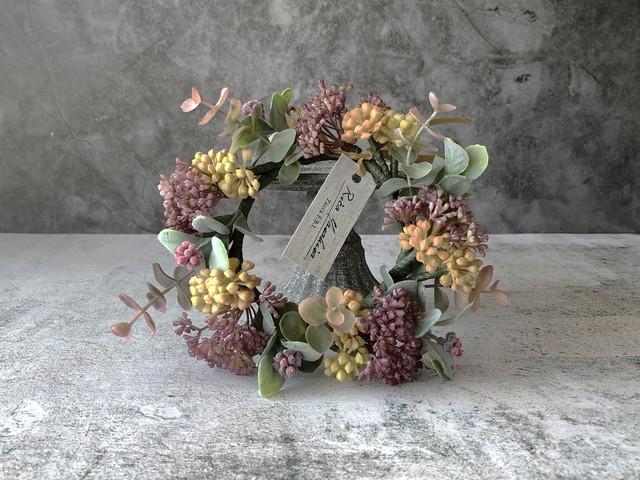 ワンコのための花かんむり #1 Charlotte (単品/送料込)