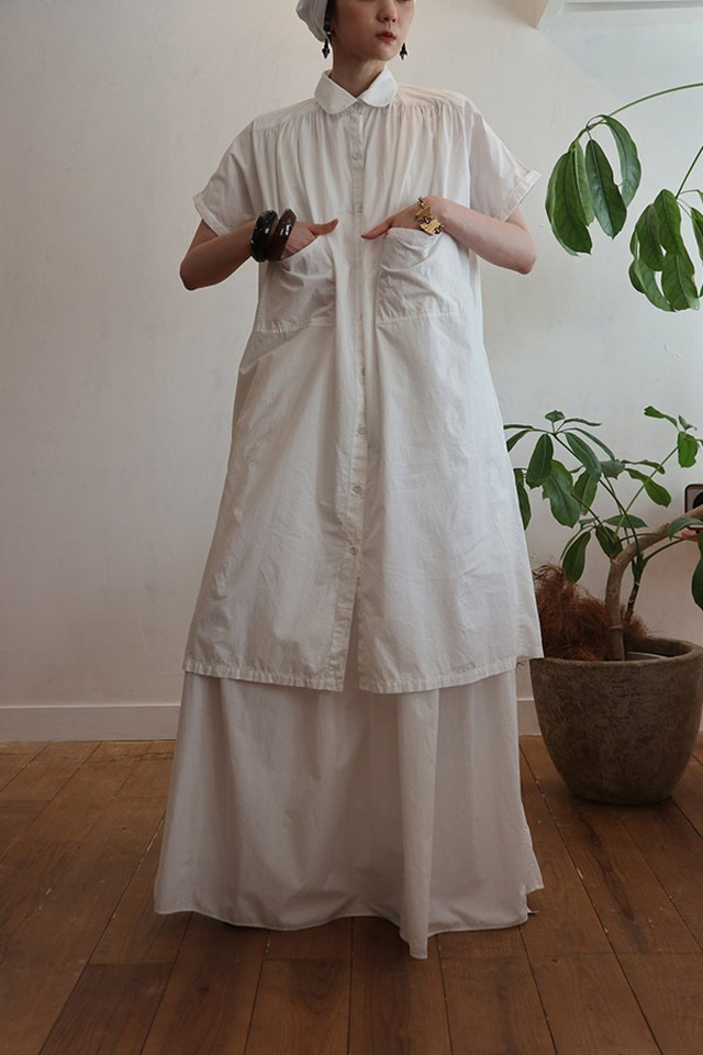 80's lodon cotton dress