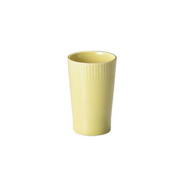 「ティント Tint」タンブラー カップ 330ml イエロー 美濃焼 289028