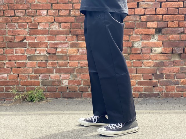 WIND AND SEA × DICKIES 20SS WDS 2TUCK TROUSERS BLACK MEDIUM 32inch 95 7758
