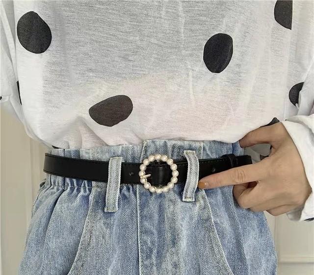 pearl circle belt