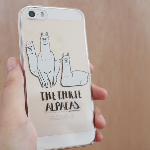 THE THREE ALPACAS / iphone5 5s SE /6 6s/7ケース