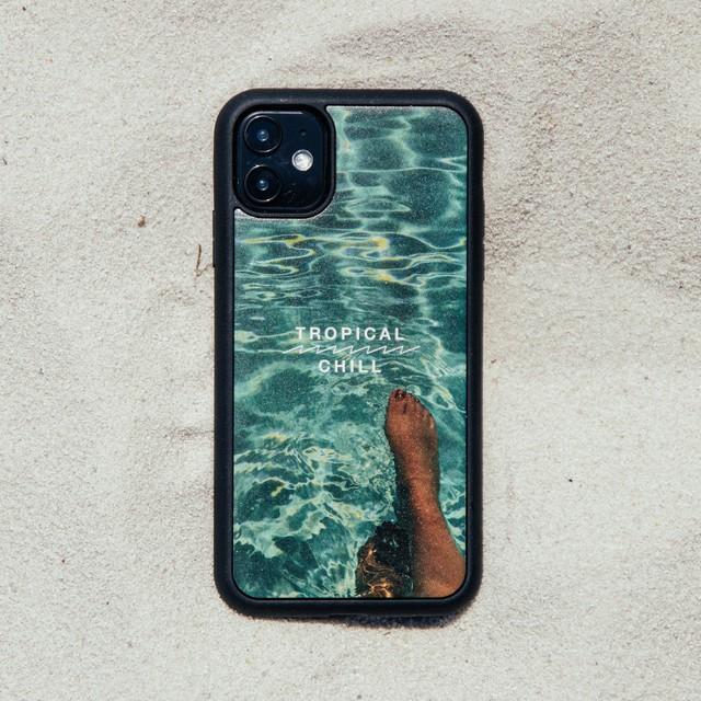 """バンブーiPhoneケース """"SURF ATTACK"""" 【各機種対応】"""