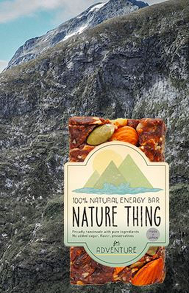 【Nature Thing】 Natural Energy Bar for Adventure