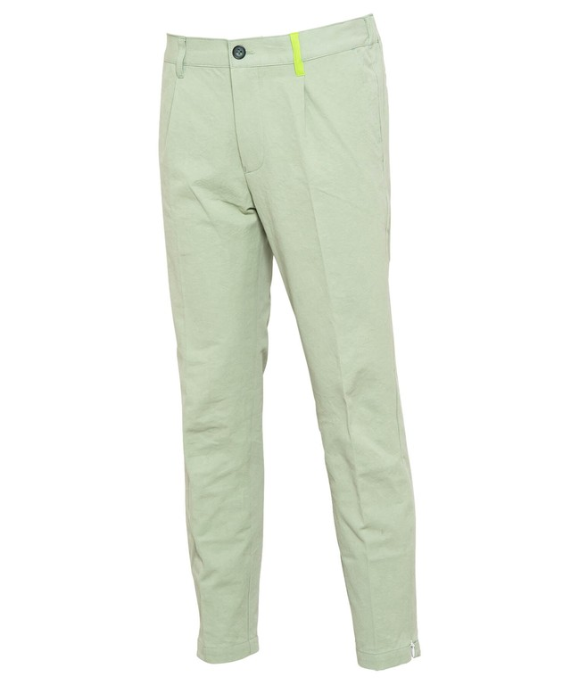 COTTON SLIM SLACKS[RUP007]