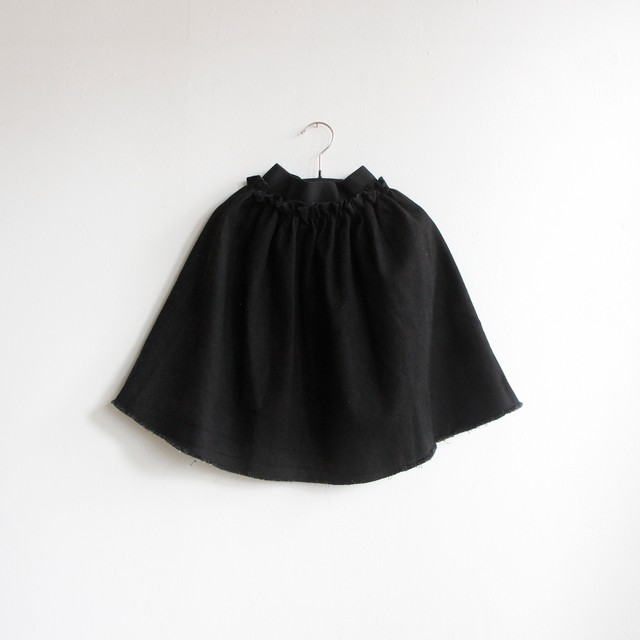 《WOLF & RITA 2020AW》SILVINA skirt / denim black