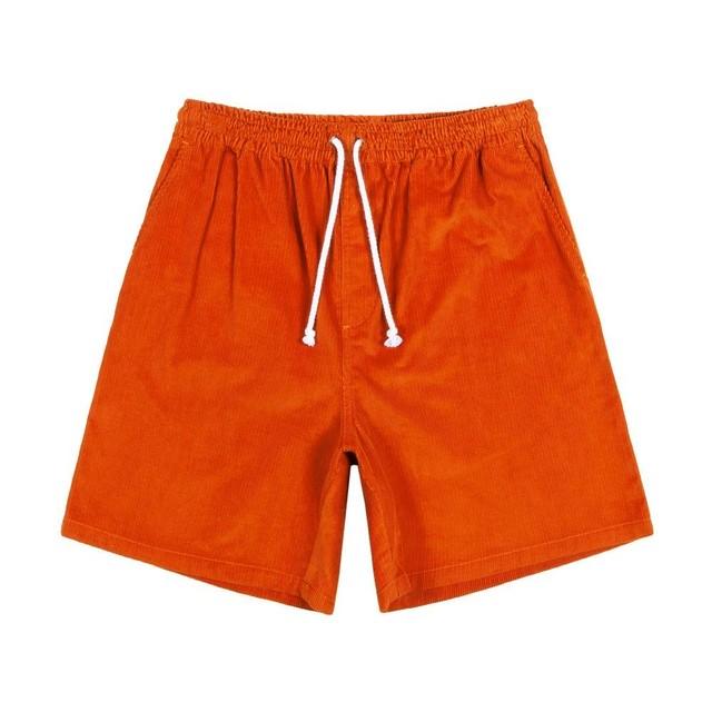 Cord Drawstring Shorts(Copper)