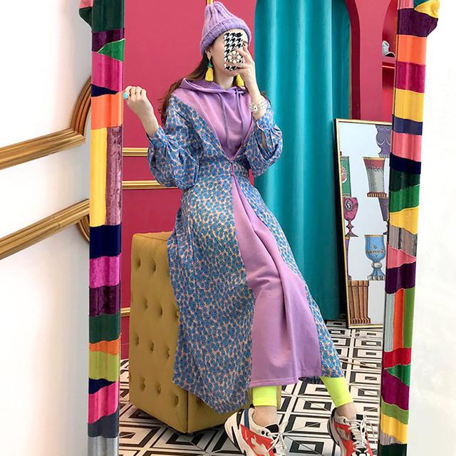 韓国ファッション ロングワンピース SHD331401
