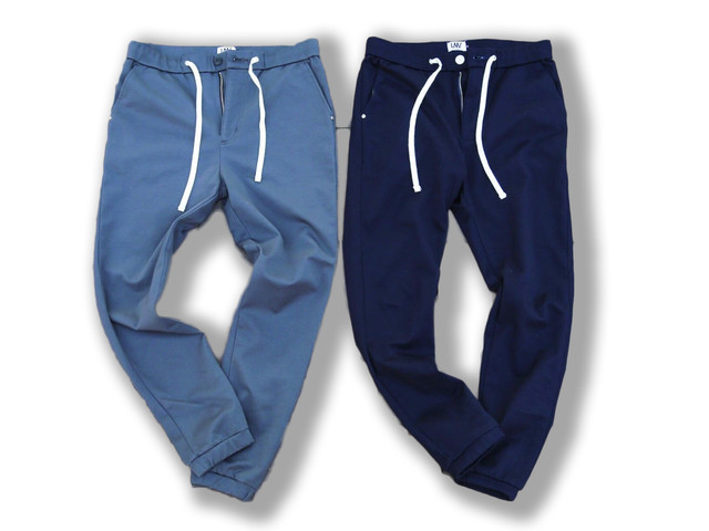 【jogger tapered sweat pants】/ dark navy