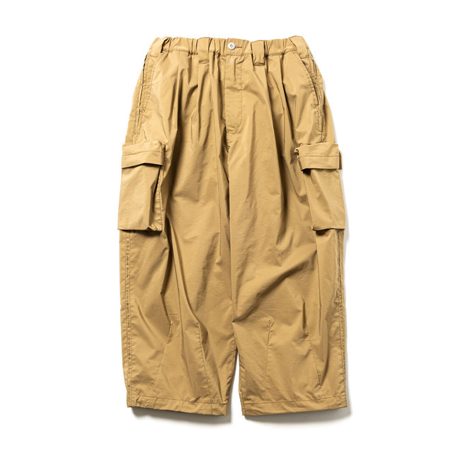 TIGHTBOOTH BAGGY CARGO PANTS KHAKI