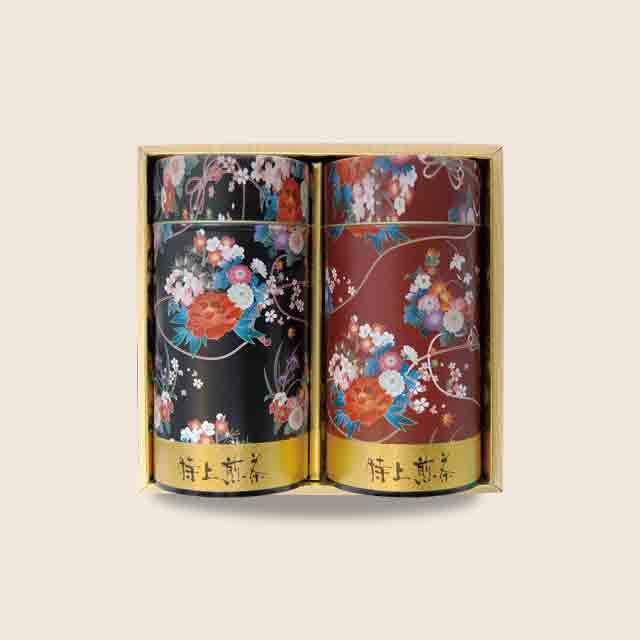 なおみちりめん缶セット (初摘130g×2本)