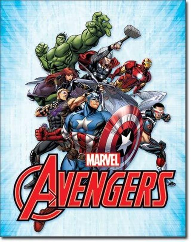 引続きセール主力商品20%OFF!  【ブリキ看板】 Avengers 【ティンプレート】 2241