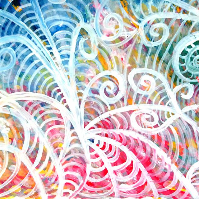 絵画 絵 ピクチャー 縁起画 モダン シェアハウス アートパネル アート art 14cm×14cm 一人暮らし 送料無料 インテリア 雑貨 壁掛け 置物 おしゃれ 抽象画 ロココロ 画家 : ごま 作品 : うごめき