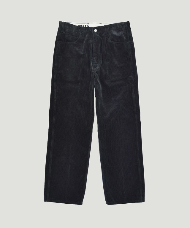 WEST OVERALLS 817F Corduroy Pants Black 19FWPT817C